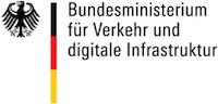 Logo des Bundesministeriums für Verkehr und digitale Infrastruktur