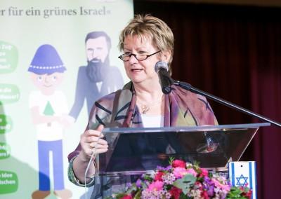 Schulministerin Sylvia Löhrmann bei ihrem Grusswort (Foto: Daminan Jäger)