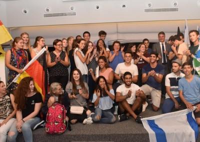 Gruppenbild der israelischen und deutschen Gewinner